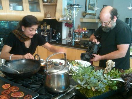 neelam batra, voices and visions, indian cooking, cooking show, video production, santa monica